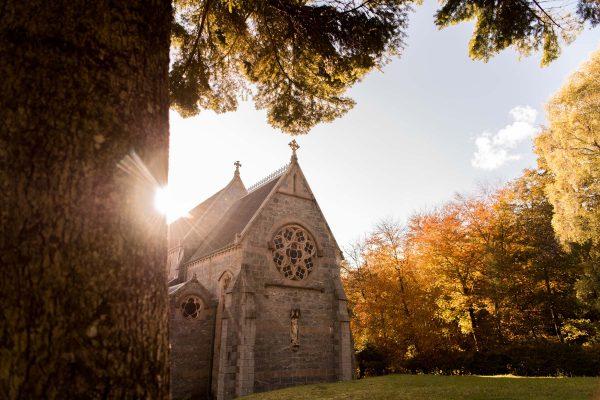 Glenfinnan Church Highlands of Scotland